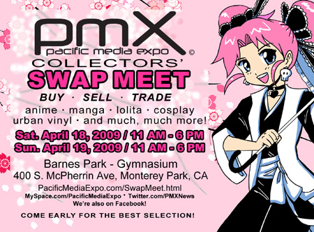 PMX Collectors' Swap Meet at the Monterey Park Cherry Blossom Festival