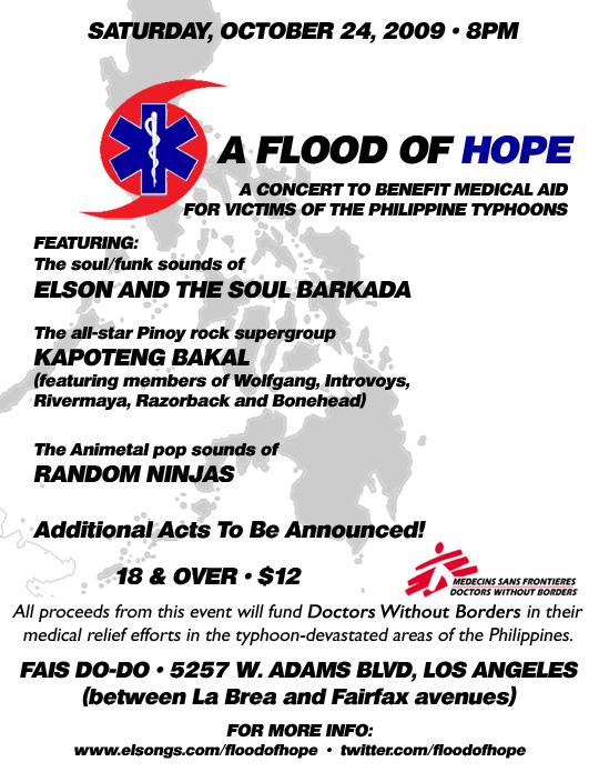 Random Ninjas Flood of Hope