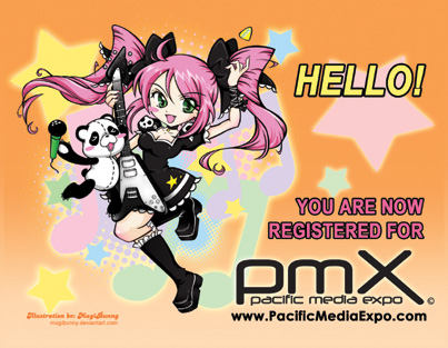 PMX 2009 Registration Cards